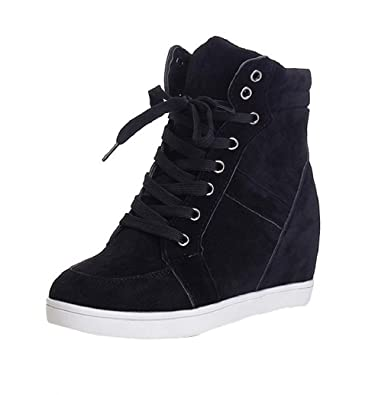 Boomboom Women'Shoes Women Fashion Leather Sneakers Casual