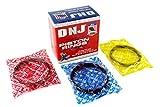 DNJ Piston Ring Set Standard Size PR670 For 91-08