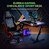 EUREKA ERGONOMIC Z2 Gaming Desk 50.6'' Z Shaped