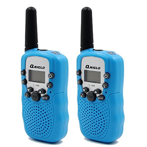 Crony T-388 UHF Band 3KM Small Walkie Talkie Blue (2 pcs)