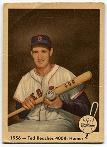 Fleer 1959 Ted Williams 1956 Ted Reaches 400th Homer Card #57 Boston Red Sox