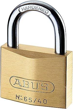 ABUS 65MB//15mm Solid Brass Padlock Keyed Alike 6151-ABUKA 09326