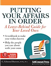 Putting Your Affairs in Order: A leave-behind guide for your loved ones