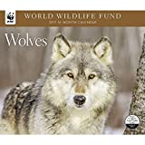 2017 WORLD WILDLIFE FUND WOLVES Deluxe Wall Calendar