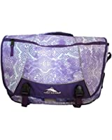 High Sierra Tank Messenger Bag, Snake Dye/Deep Purple