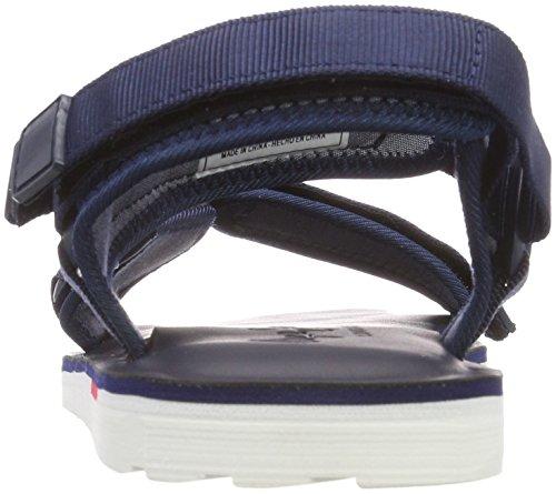 Pepe Jeans London Herren Barrel Tech Slingback Sandalen Blau (Navy)