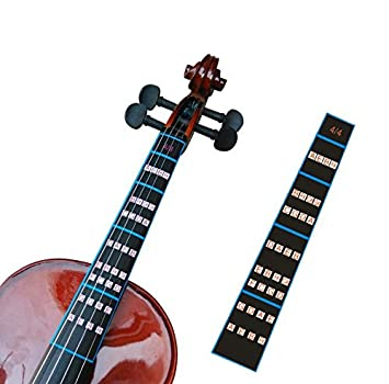 AmazonCom Finefun Violin Finger Guide Fingerboard Sticker Fret