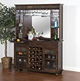 Cheap Sunny Designs 2413DC Santa Fe Server and Back Bar