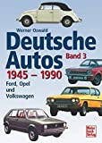 img - for Deutsche Autos, Bd.3, 1945-1990 book / textbook / text book