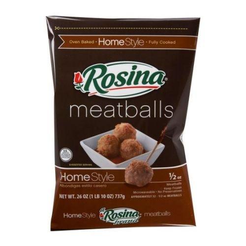Rosina Home Style Meatball, 26 Ounce - 8 per case.