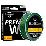 Proberos Ultra High Molecular Weight 4 Braided PE Fiber Fishing Line Powerful 110YD Spool 0 Stretch Strong Abrasion Resistance (20lb, Green)