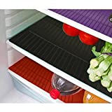 Kuber Industries™ Refrigerator Drawer Mat / Fridge Mat Set of 6 Pcs (13*19 Inches) (Multi)