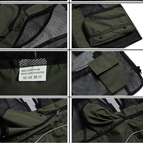 Pêche Air Outil C Et Hx Confortable Poche Mâle Cheval Multiple Mode Photographie En Gilet Maille Automne Tailles Clip Plein Hommes Vêtements fqEZqY