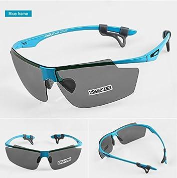 INBIKE ultraligero ciclismo gafas polarizadas para bicicleta Deportes al aire libre Eyewear gafas cortavientos para hombres y mujeres MTB Equipo 2 lente, ...