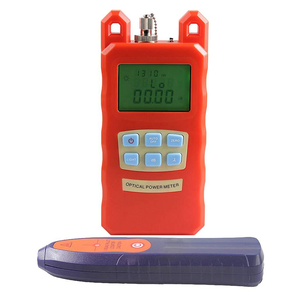 Baosity AUA-70C Portable Optical Fiber Power Meter Tester Measure -70dBm~+10dBm + 20mW 15KM Visual Fault Locator Fiber Tester Detector Meter Pen Tools by Baosity (Image #3)