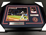 DAVID ORTIZ 500TH HOMERUN RED SOX AUTOGRAPHED CARD WITH 8X10 Photo Framed #1