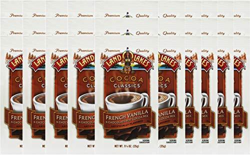 Land O' Lakes Hot Cocoa Mix, French Vanilla, 1.25 oz (35g), 30 Packets