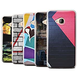 STUFF4 Gel TPU Phone Case / Cover for HTC U Play/Alpine / Pack 12pcs / Urban Street Art Collection