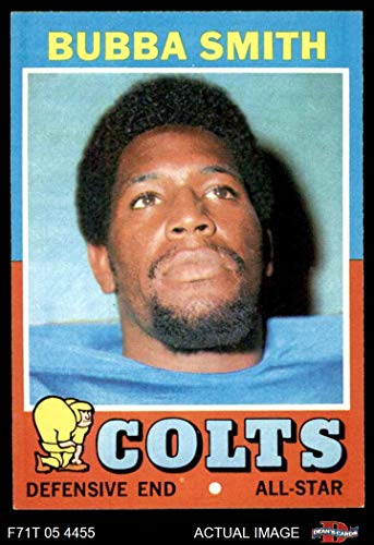 - 1971 Topps # 53 Bubba Smith Baltimore Colts (Football Card) Dean's Cards 6 - EX/MT Colts