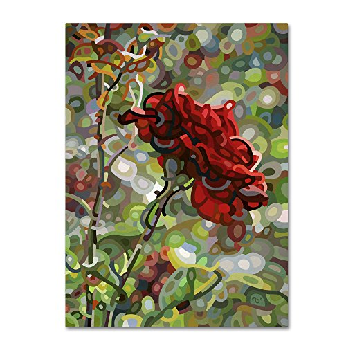 Last Rose of Summer by Mandy Budan Wall Hanging, 35