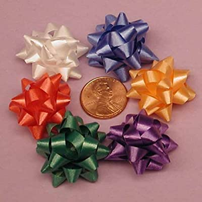 Assorted Mini Confetti Bows, 1""