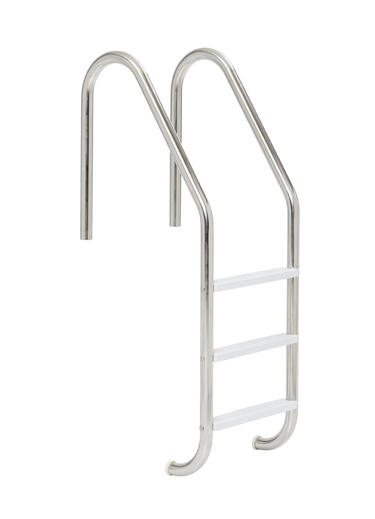 S.R. Smith VLLS-103E 3-Step Economy with Plastic Steps Pool Ladder, Stainless Steel by S.R. Smith