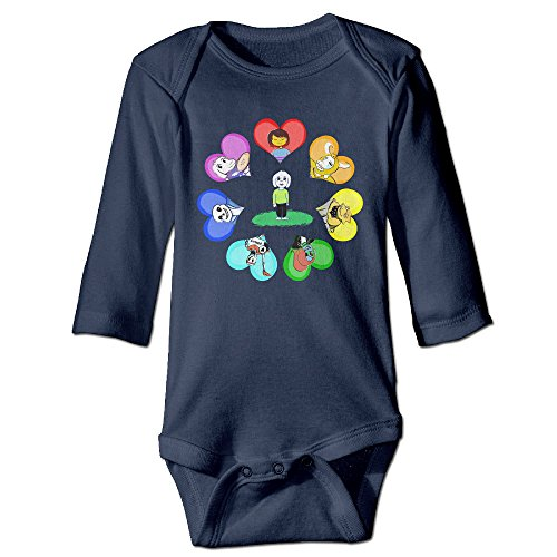 HYRONE Under Game Tale Baby Bodysuit Long Sleeve Climbing Clothes Size 18 Months Navy