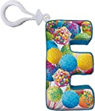 iscream Vanilla Scented Letter E Initial Squishem Backpack Charm