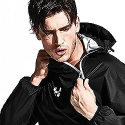 HOTSUIT Men's Sports Suit Running Fitness Sauna Suit