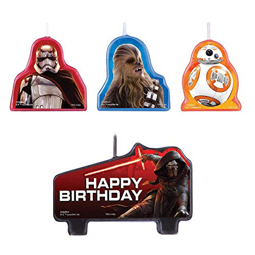 Fun Express - Star Wars Vii Birthday Candle