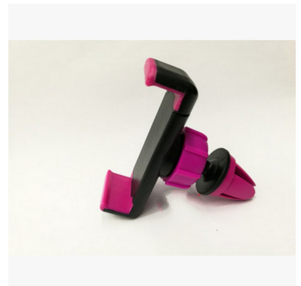 Unicoco Support Télephone Voiture Ventilation Rotation 360° Ajustable avec Pince sur Ventilation pour l'écran de téléphone de 3.5-6 Pouces