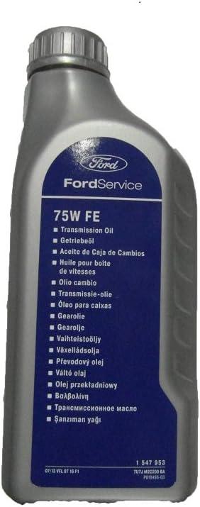 Amazon.es: Aceite de caja de cambios 75w80 de Ford, original, de 6 ...