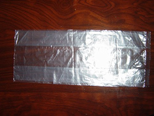 Polybest Inc LDPE Clear Bag 6'' x 3'' x 15'' 1000 pieces by Polybest, Inc