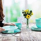 Zak Designs Confetti Melamine Dinnerware Set