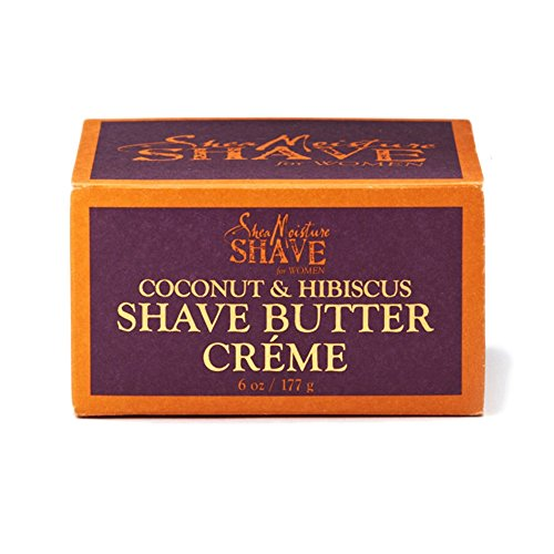 Shea Moisture Shave For Women Coconut & hibiscus Shave Butter Creme, 6oz