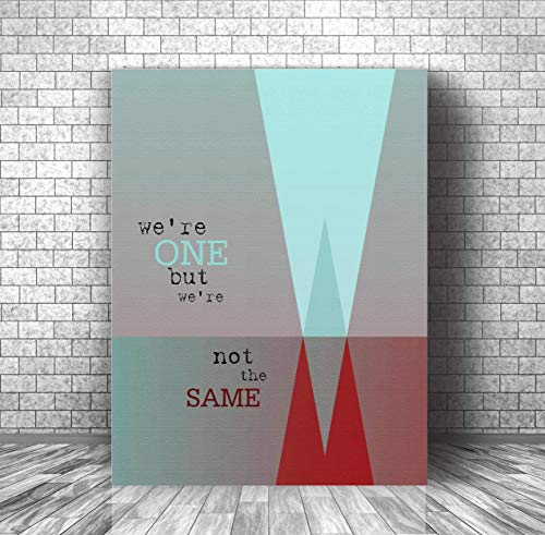 ONE by U2 : Song Lyrics Art : CANVAS OR PLAQUE MOUNT for sale  Delivered anywhere in USA