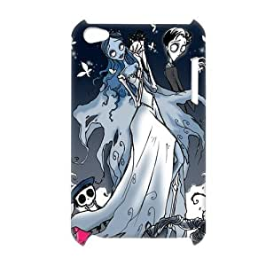 3D Print Classic Animated Film Series&Corpse Bride Background Case Cover for iPod Touch 4 - Personalized Hard Back Protective Case Shell-Perfect as gift