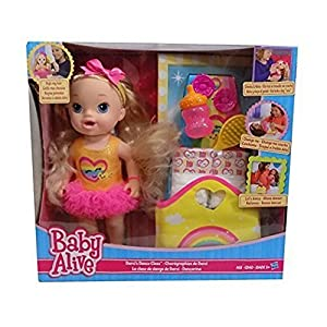 Baby Alive Darci S Dance Class Blonde Hair Doll Amazon Co