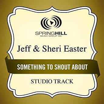 Something To Shout About (Medium Key Performance Track With