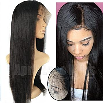Amazoncom 360 Silk Top Lace Frontal Wigs The Best 4x4 Silk Top