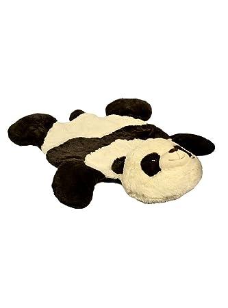 Captivating Baberoo Panda Plush Nursery Rug, Soft Baby Rug, ...