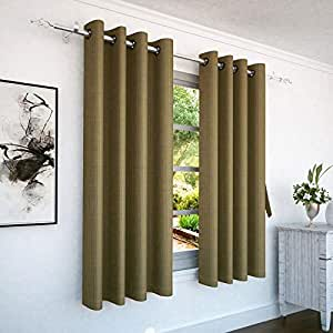 Story at Home Window Curtain, Brown, 118cm X 152cm, Wnr4038