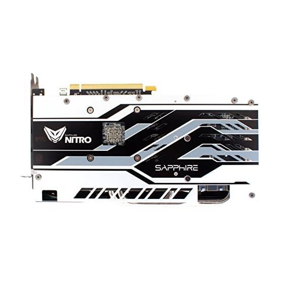 Sapphire 11265-07-20G Radeon Nitro+ Rx 580 4GB GDDR5 Dual HDMI/ DVI-D/ Dual DP with Backplate (UEFI) PCI-E Graphics Card 51yBzx hTcL. SS555