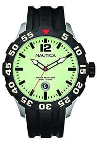 Nautica A21514G - Reloj analógico de caballero de cuarzo