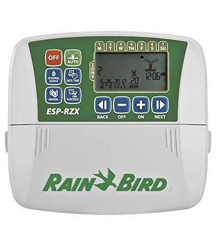 5 opinioni per Rain Bird RZX6I-Programmatore di irrigazione elettrico