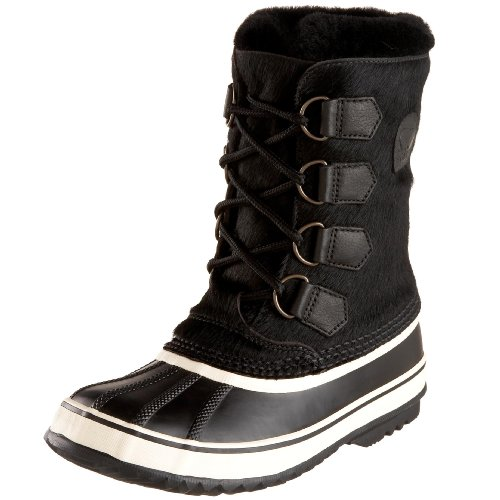 SOREL Women's 1964 PAC Premium NL1521 Boot,Black,9 M
