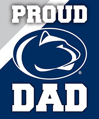 PENN STATE NITTANY LIONS DAD STICKER-PROUD PENN STATE DAD PEEL AND STICK DECAL Penn State Nittany Lions Magnets