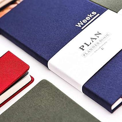 Amazon.com: Weeks - Planificador de papel para Hobonichi ...