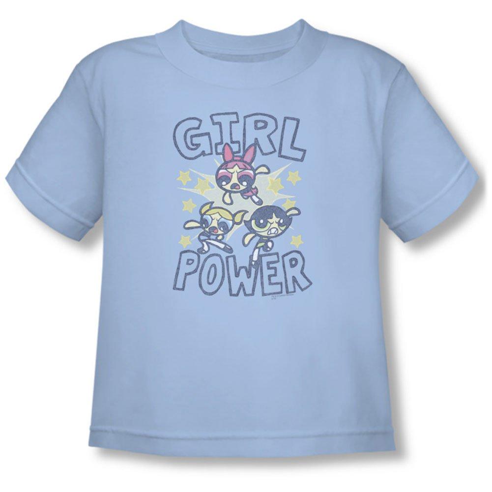 ed26603d Powerpuff Girls - Toddler Girl Power T-Shirt, 4T, Light Blue: Amazon ...