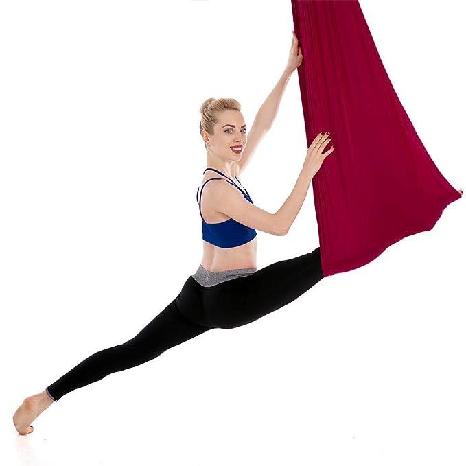 GLLT Meditación Hamaca de Yoga Hamaca voladora Columpio ...